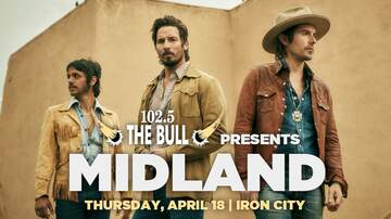 - 102.5 The Bull presents Midland | Iron City