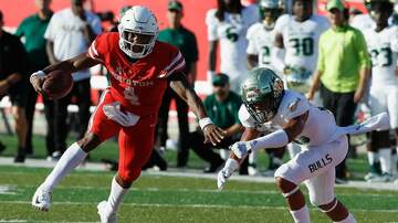 Matt Thomas - UH's King Leads Cougars to Win Over #21 USF