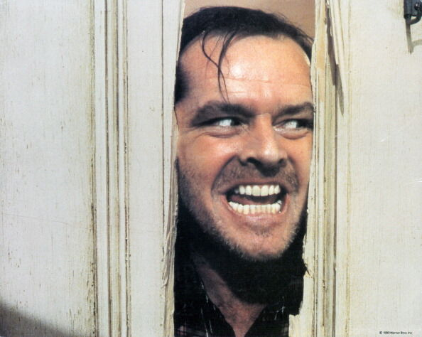 """Jack Nicholson in """"The Shining"""" (Getty Images)"""