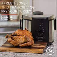Win a Butterball Electric Fryer by Masterbuilt
