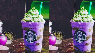 Trending - Starbucks Debuts Spooky New Witch's Brew Drink For Halloween