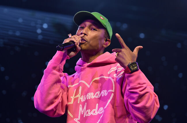 Pharrell Williams (getty)