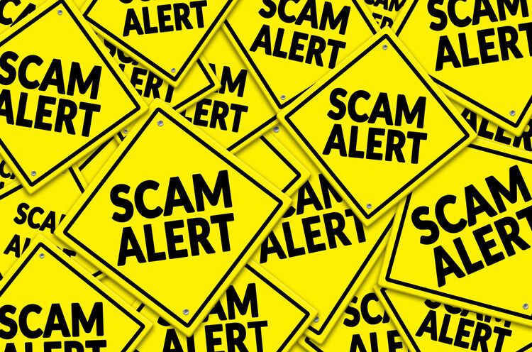 Scam Alert Getty RF