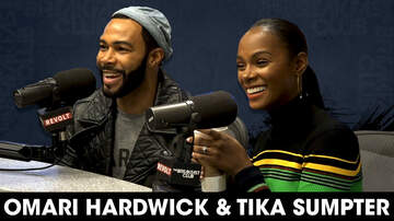 The Breakfast Club - Omari Hardwick & Tika Sumpter On New Movie & Omari's Run In With Crazy Fan