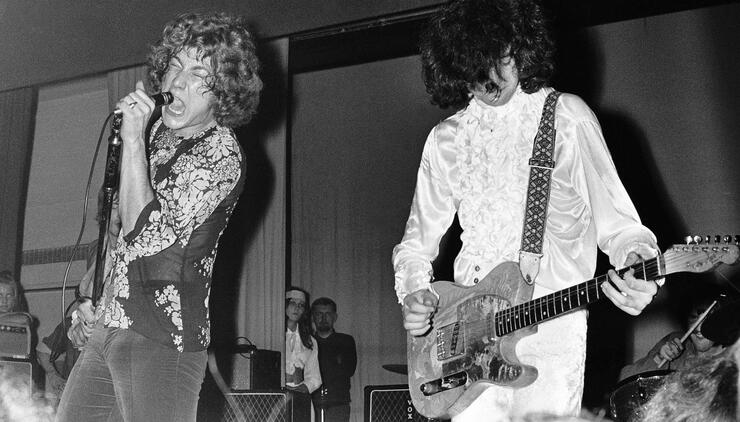 Fender Partners With Jimmy Page to Recreate First Led Zeppelin Guitar