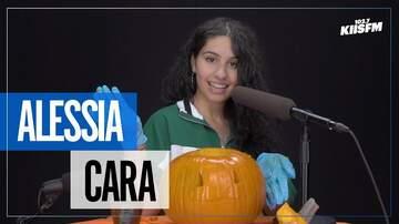 KIIS Articles - Alessia Cara Does Pumpkin Carving ASMR For Halloween