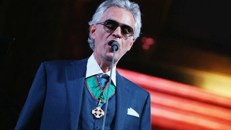 Andrea Bocelli Opens Up About New Album, 'Si,' His First Set In 14 Years