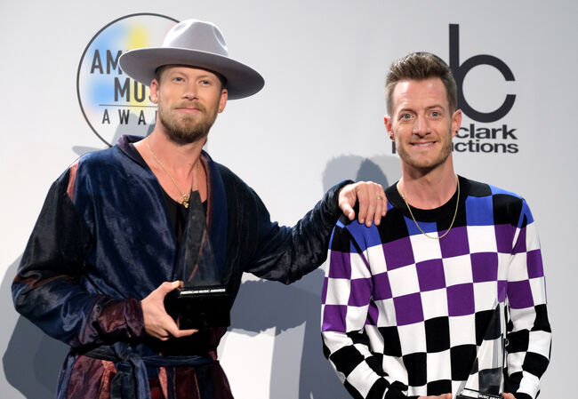 2018 American Music Awards - Press Room