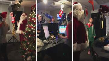 Mac And Shmitty - Santa & His Helper Turn On The Christmas Music For Star 105.7