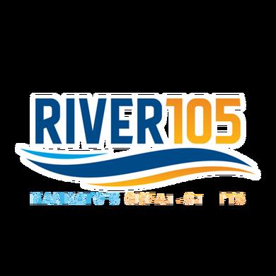 River 105 logo
