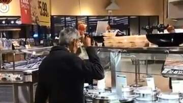 Adam West - Guy Caught Sampling Grocery Store Soup With The Ladle