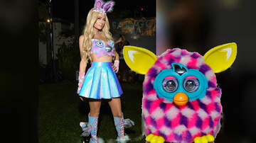 Greek - Paris Hilton Dresses Up As Sexy Furby