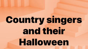 - Country Singers in touch w/ their inner child...