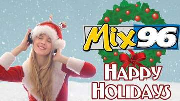 What's New At Mix 96 - Christmas Music Starts Tomorrow Morning
