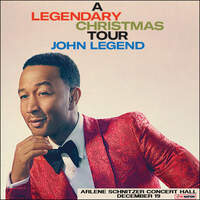 Enter To Win A Pair Of Tickets To See John Legend's A Legendary Christmas at Arlene Schnitzer Concert Hall December 19th!