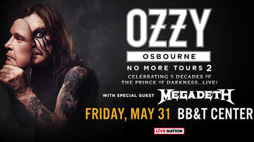 Contest Rules - Ozzy Osbourne Ticket Takeover