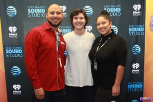 AT&T THANKS Sound Studio w/ Lukas Graham 11.02.18