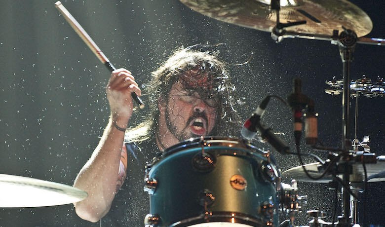 Dave Grohl Plays Drums On Motörhead and Thin Lizzy Classics: Watch