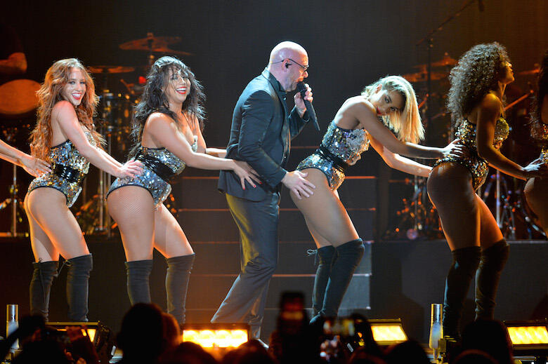 7 Times Pitbull Was The Life of the Party at iHeartRadio Fiesta Latina