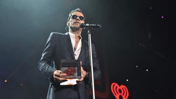 iHeartLatino - Marc Anthony Recibe el Premio Corazón Latino