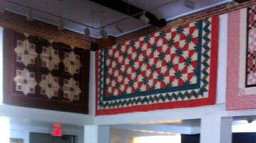 """Local News Stories WCH - """"Starring the Art of the Quilt"""" at the Pump House"""