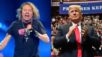 Maria Milito - Axl Rose Calls Trump Campaign S--tbags for Using Music Without Consent