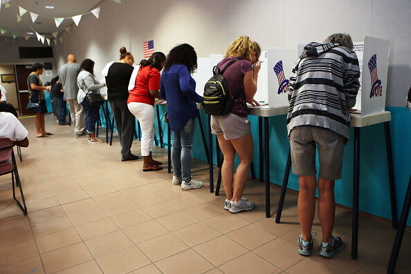 Election Day voting in California   Getty Images