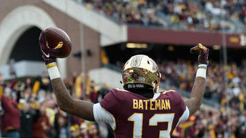 Gopher - Gophers WR Rashod Bateman named Big Ten Co-Freshman of the Week