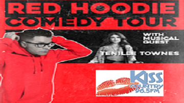 None - Bobby Bones Red Hoodie Comedy Tour