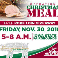 Get Your Free Pork Loin at the Fairgrounds, November 30th!