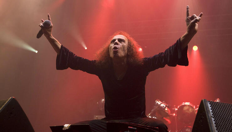 Ronnie James Dio's Hologram Will Perform Over 100 Shows Next Year