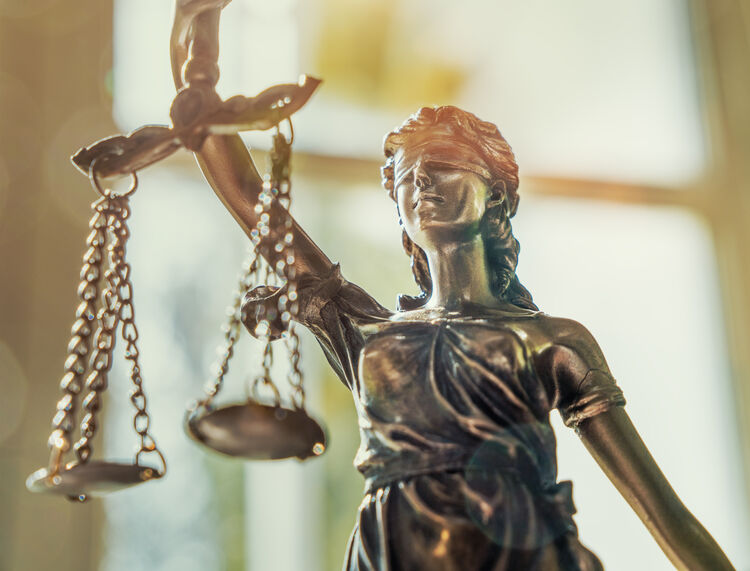 Scales of Justice Getty RF