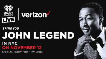 Going Viral - John Legend To Perform Intimate Show In NYC