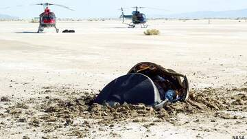 Coast to Coast AM with George Noory - NASA Shares Crashed 'Flying Saucer' Photo