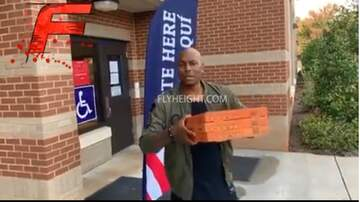 Chris Michaels - Tyrese Gets Kicked Out Voting Polls