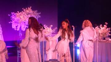 Savannah - Ariana Grande Nearly Face-Plants During Performance on 'The Ellen Show'