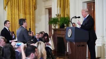 None - Trump and CNN reporter get into it