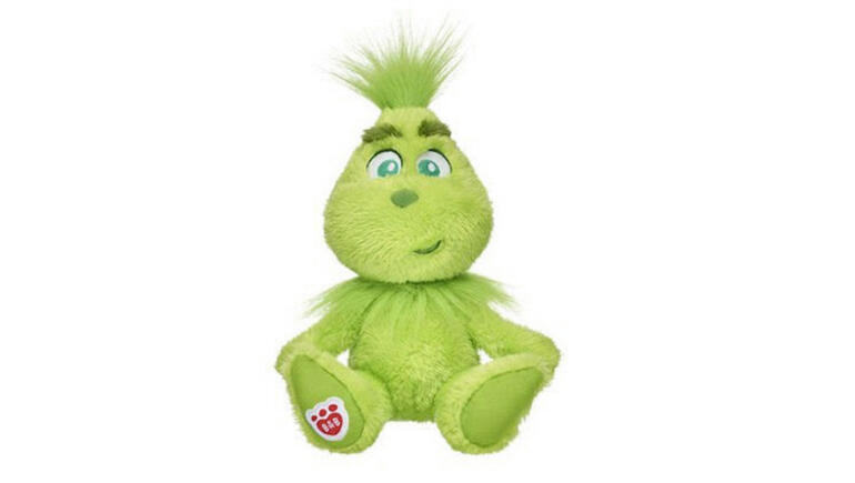 build a bear releases plush grinch for the holidays - What Station Is Christmas Music On