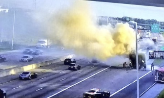 Deuce - Ewwwww That Smell.  Florida Egg Truck Catches Fire