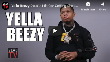 Jess Live - Yella Beezy Details His Car Getting Shot 23 Times