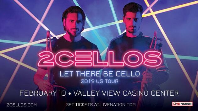 2 Cellos Let There Be Cello San Diego Valley View Casino Center February 10, 2019