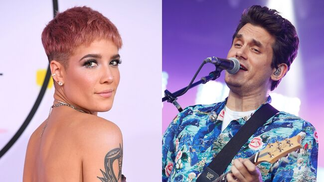 halsey john mayer are not dating