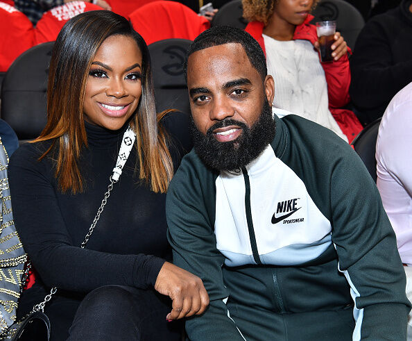 elebrities Attend The Dallas Mavericks Vs Atlanta Hawks 2018-2019 NBA Home Opener Game ATLANTA, GA - OCTOBER 24: Kandi Burruss and Todd Tucker attend the Dallas Mavericks Vs Atlanta Hawks 2018-2019 NBA Home Opener Game at State Farm Arena on October 24, 2018 in Atlanta, Georgia. (Photo by Paras Griffin/Getty Images)