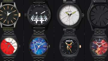 SHROOM - METALLICA Nixon Watch Collection