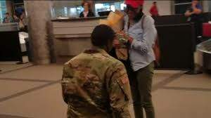 Your Morning Show - Soldier Proposes at DIA