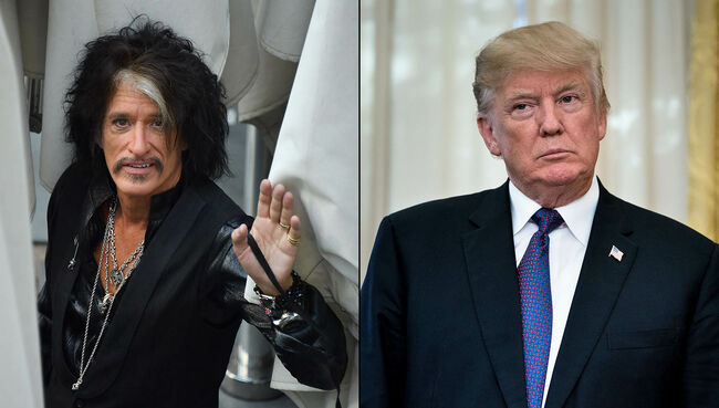 Joe Perry Is Pretty Sure He Partied With Donald Trump in the '70s