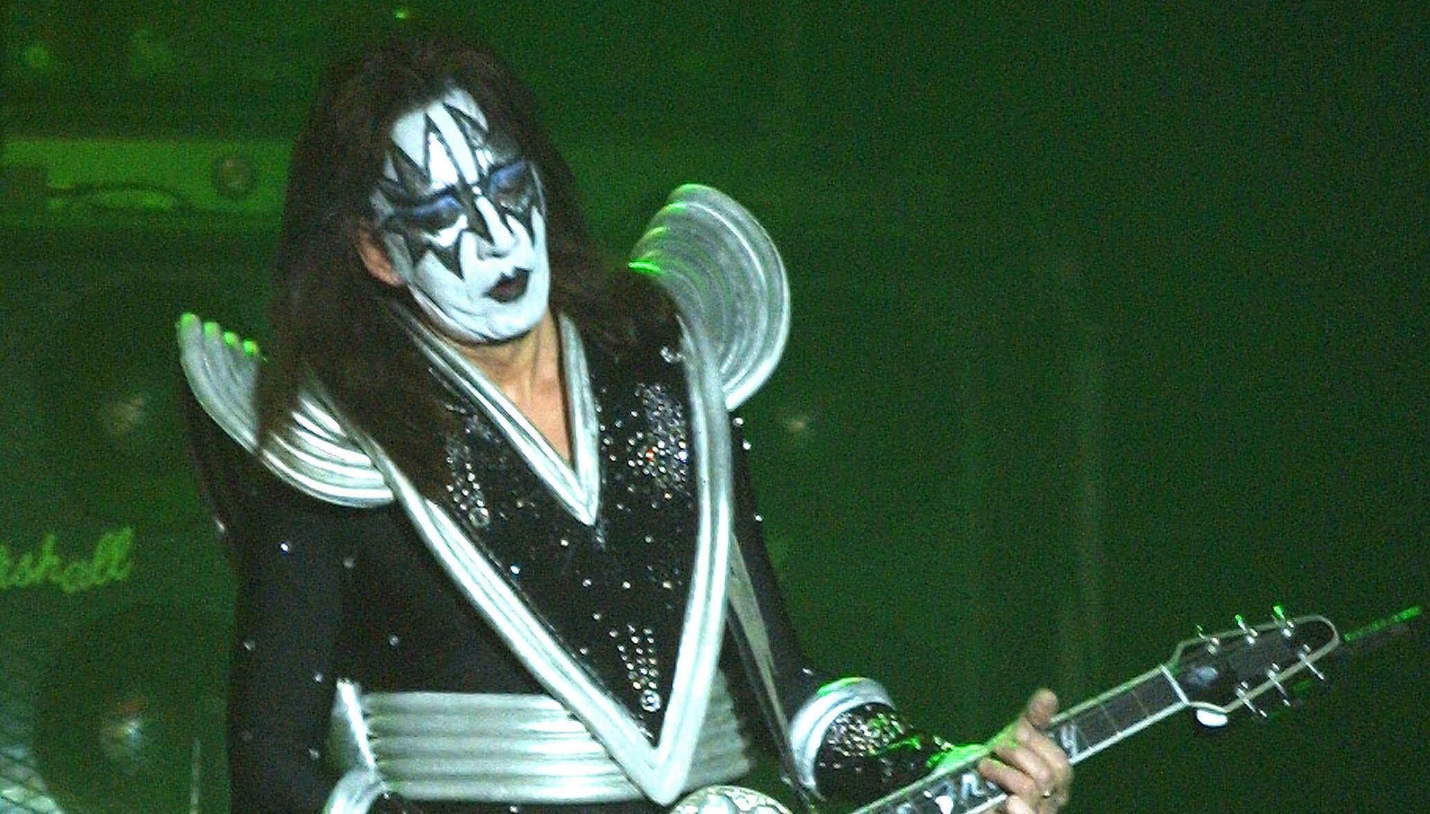 ace frehley says kiss is testing the waters for reunion iheartradio. Black Bedroom Furniture Sets. Home Design Ideas
