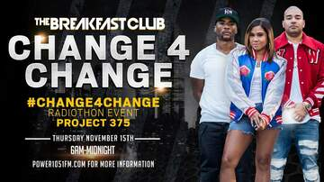 The Breakfast Club - The Breakfast Club's #Change4Change is Back! Proceeds Go To Project 375