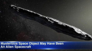 Qui West - Harvard Researchers Say A Mysterious Object Is Probably An Alien Spacecraft