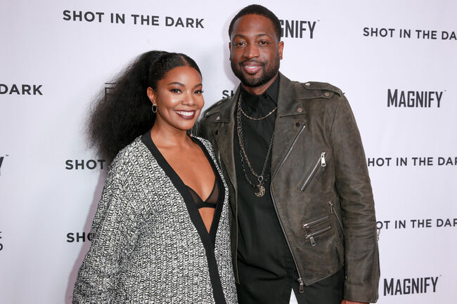 Dwayne Wade and Gabrielle Union (Getty)